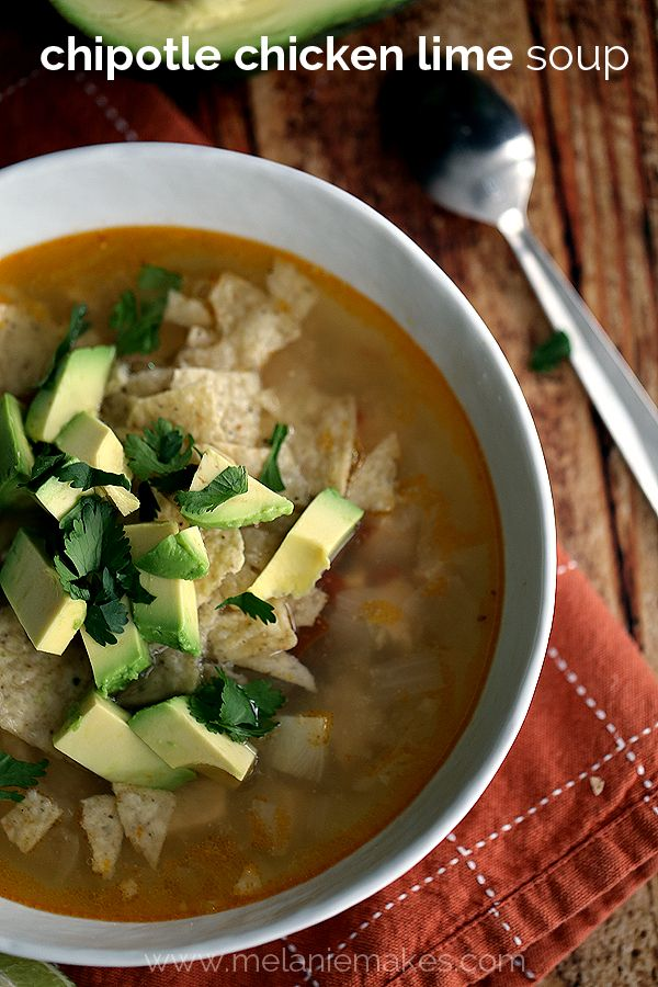 chipotle chicken lime soup chicken lime soup diced chicken chipotle ...