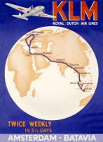 Vintage Aviation Posters British and European Airlines Gallery 1