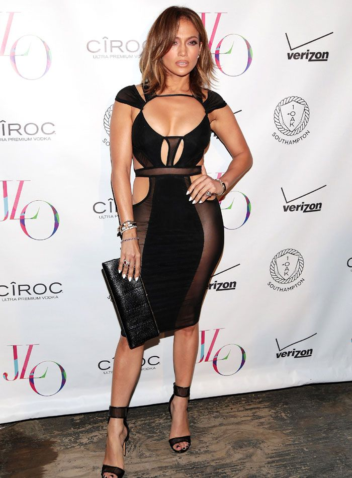 jennifer lopez black outfits | Kim Kardashian dice que Jennifer Lópes es su ídolo
