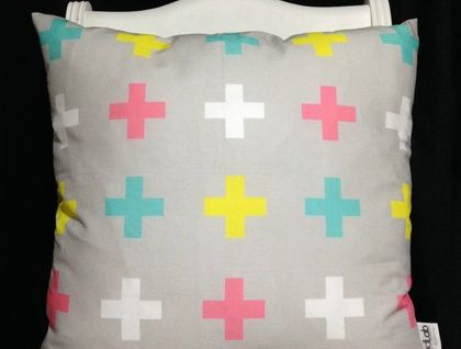 candy cross cushion cover (white back)