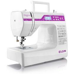 Máquina De Costura Portátil Elgin Premium Jx-10000 Bivolt