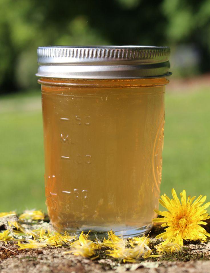 Traditional Scandinavian Dandelion Syrup Recipe