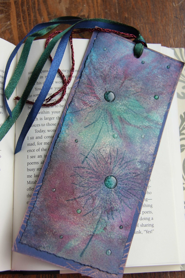 Watercolor bookmark patterns - Handmade Bookmark Bookmark Paper Bookmark By Designarrastey