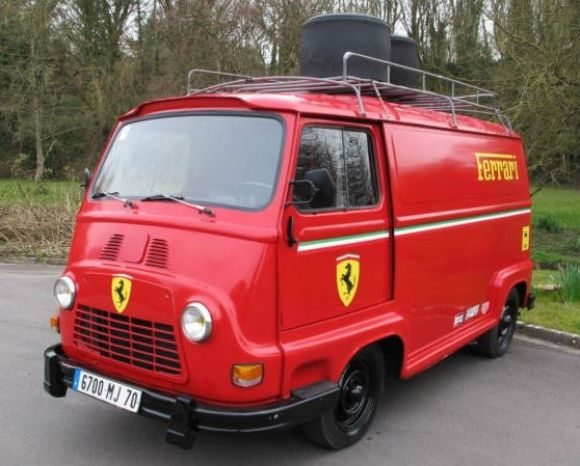 "Rosso Renault: 1970 Estafette Used in Filming of ""Rush"""