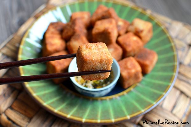 Crispy Tofu With Sesame Asparagus And Dipping Sauce Recipes ...