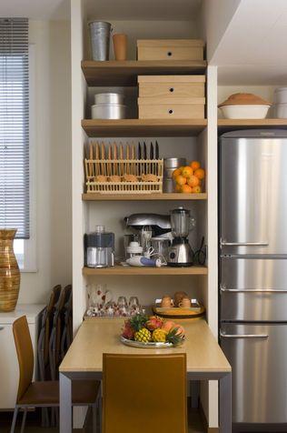 Fai da te mobili cucina salvaspazio