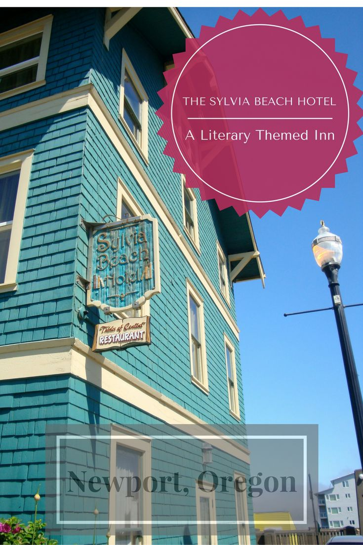 The literary themed Sylvia Beach Hotel in Newport, Oregon, USA takes guests to a peaceful paradise filled with books, tea, and stunning ocean views.
