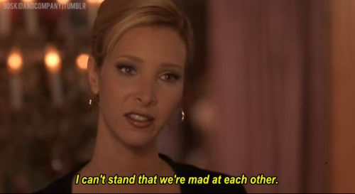 It takes so much effort to stay mad at each other. | 27 Ways You And Your Best Friend Are Romy And Michele