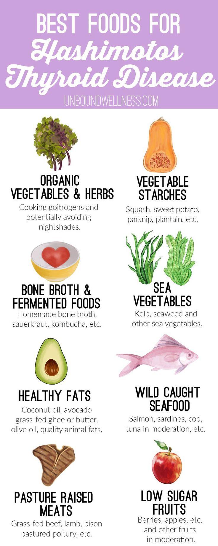 The Best Foods For Hashimoto's Disease – Eva Waldroup