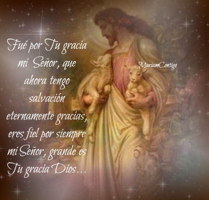 Mariampoesiasycanciones...       POR TU GRACIA Jorge Doré Señor, es por Tu gracia redentora que sigo en pie a pesar del enemigo, con la es...