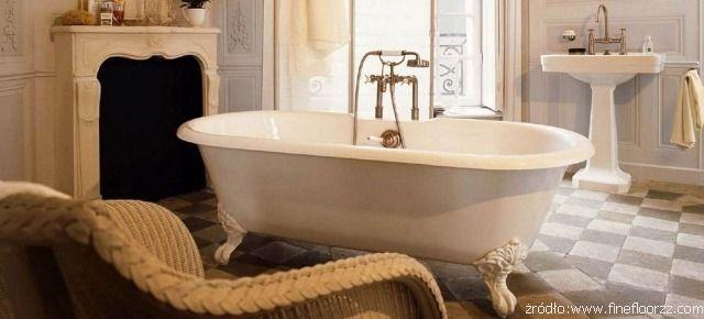 Aranżacja łazienki z elementami w stylu retro