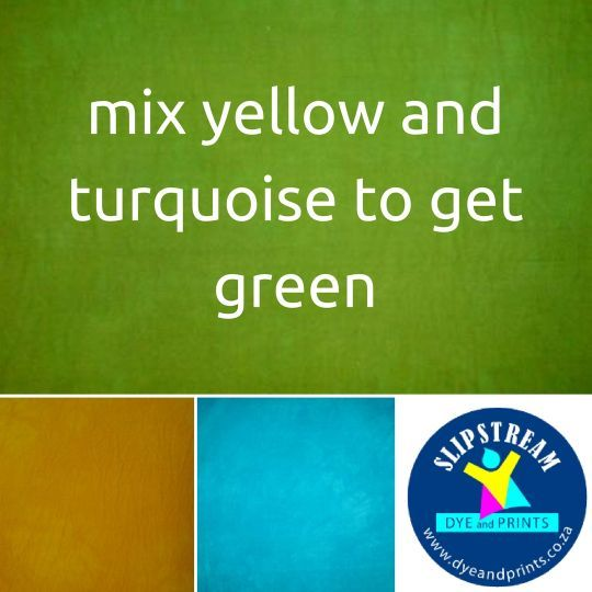 Learn how to mix your own color...