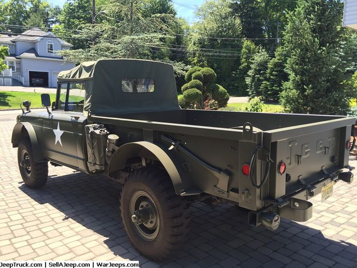 Military Jeeps For Sale and Military Jeep Parts For Sale - 1969 Kaiser Jeep M715