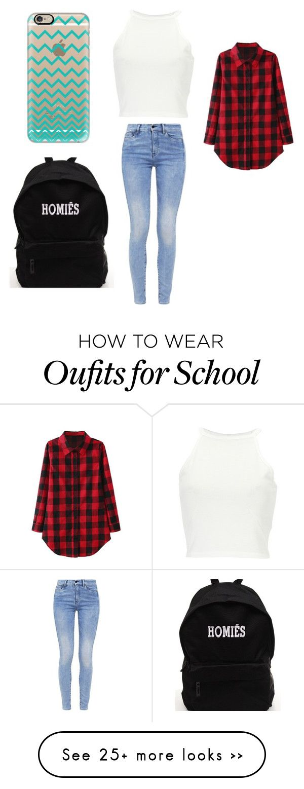 """School"" by jordan-shaw1 on Polyvore featuring Casetify and G-Star"