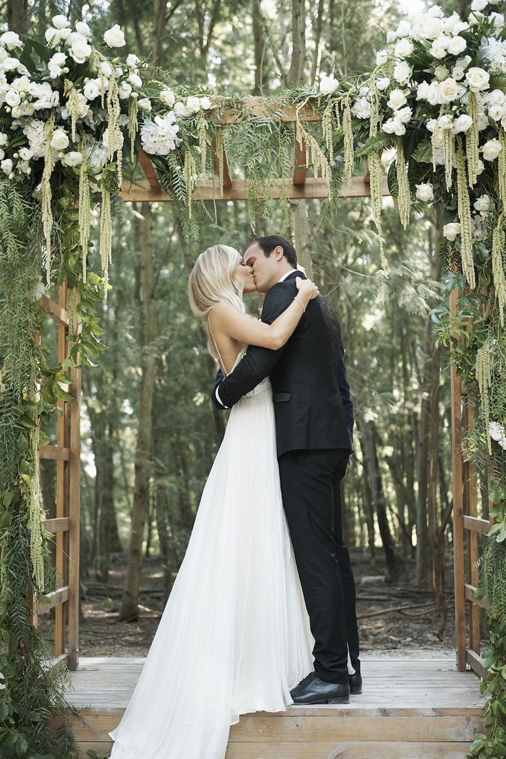 Romantic Forest Wedding with a Catherine Deane Gown | SouthBound Bride