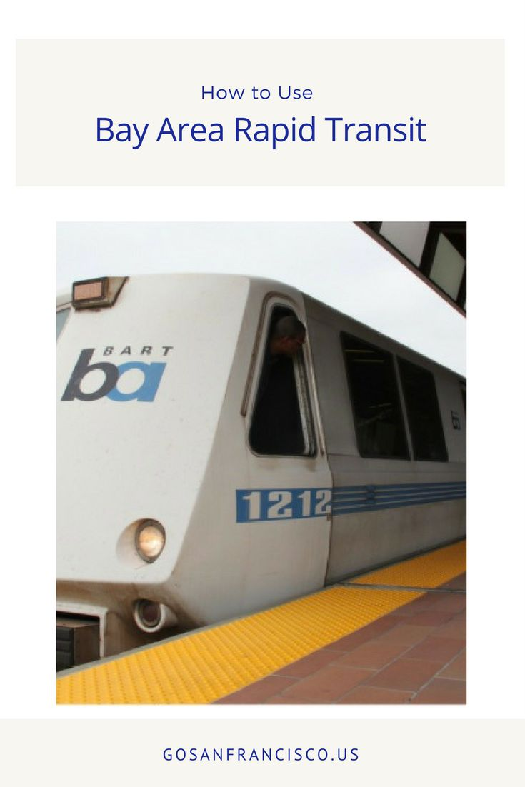 Learn how to use the Bay Areas rapid transit system within San Francisco and the surrounding areas.
