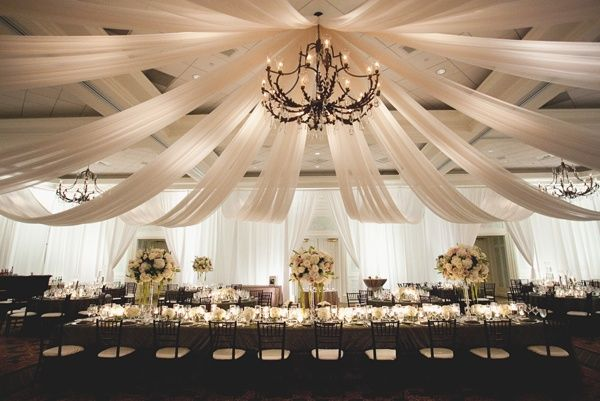 Wedding Reception Decoration Kits : Diy ceiling and wall draping kits http wedding flowers reception ideas