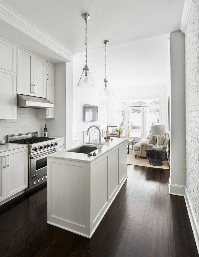 Best 25 Small White Kitchens Ideas On Pinterest Small Kitchens White Diy Kitchens And White Farmhouse Kitchens
