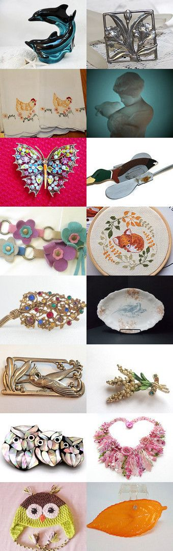 Flora and Fauna, a late summer treasury by Debs Lee on…