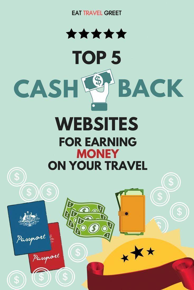 Top 5 Cashback Website For Earning Money On Your Travel Cashback