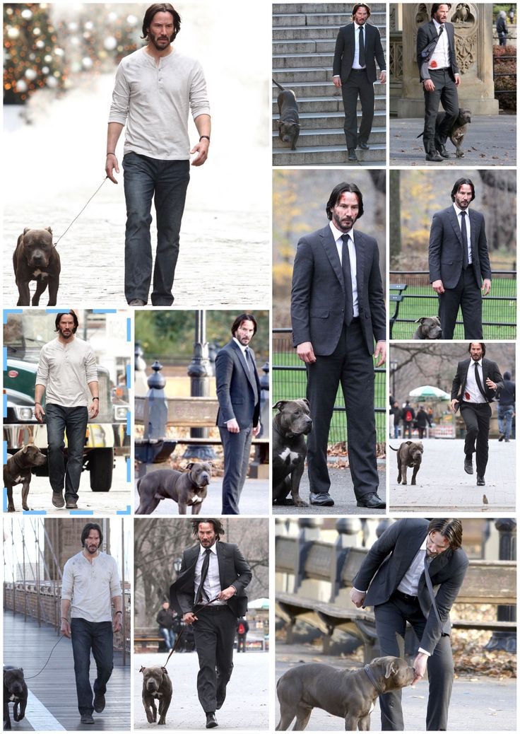 Keanu ♡♥ Reeves on the set of John Wick 2 created by Kimberlydyan