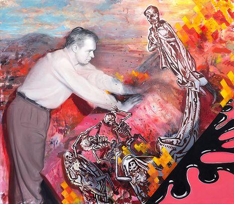 Kristoffer Zetterstrand, Tilted Hell on ArtStack #kristoffer-zetterstrand #art