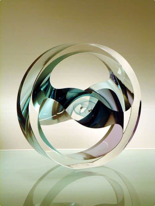 Phil Vickery Glass:  Thought Sculpture