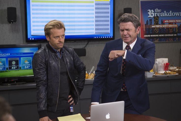John Michael Higgins and Adam Campbell in Great News (10)