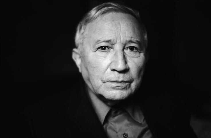 Tadeusz Różewicz. Photo: Ela Lempp.