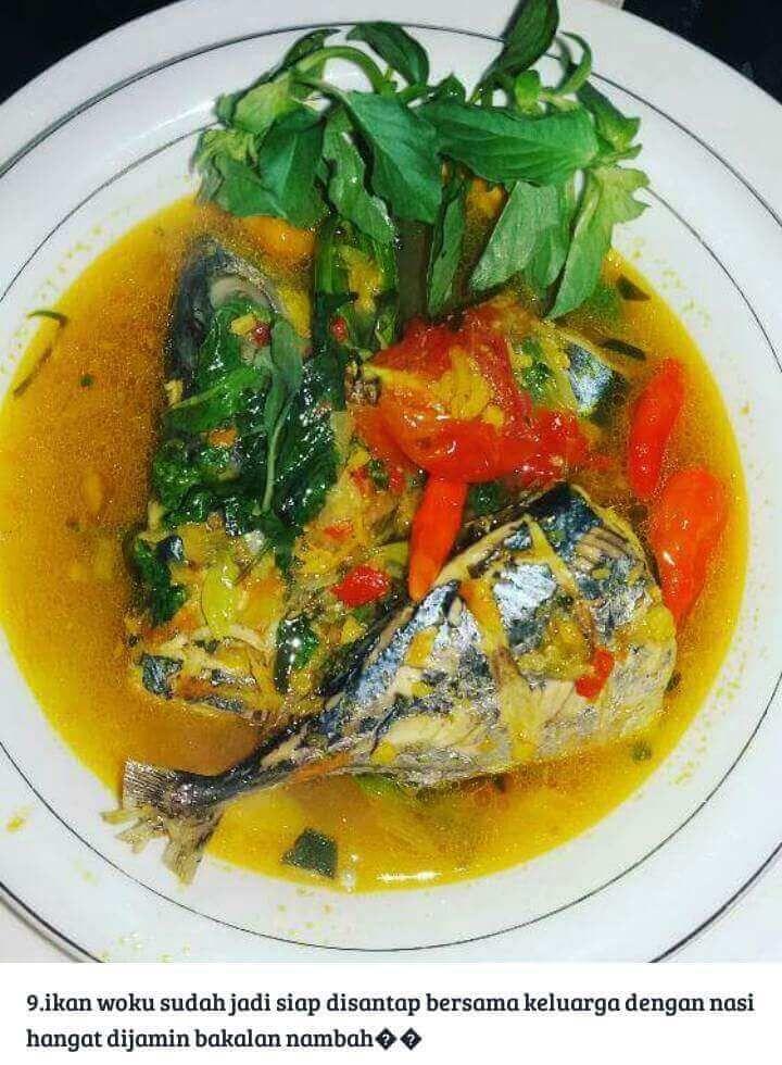 Resep Ikan Tongkol Masak Woku Khas Manado Resepkoki Co Resep Ikan Resep Ayam Ayam Goreng