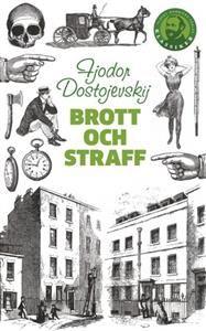 Swedish version of Crime and Punishment by Fjodor Dostojevskij