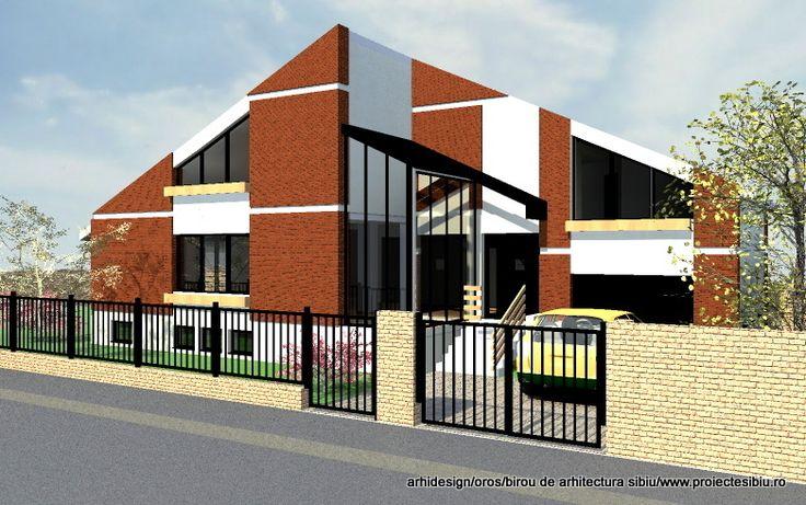 Proiect Casa moderna - model 15