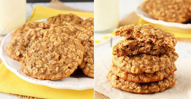 Jemné, jako na snídani stvořené ovesné sušenky s vůní skořice. Křupavé na povrchu a vláčné uvnitř. Dejte si je třeba s domácím bílým jogurtem. Ingredience 3/4 hrnku másla 1 hrnek třtinového cukru 1/2 hrnku krupicového cukru 1 vejce 1 lžička vanilkového extraktu 1 hrnek rozmačkaných banánů 1 1/2 hrnku hladké mouky 1 1/2 lžičky skořice ...