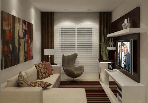 Yeterince geniş olmayan her oda iş düzenlemeye gelince biraz sıkıntı yaratır ama küçük salonlar dekorasyon anlamında özellikle zorlayıcıdır. Rahat koltuklar, güzel bir televizyon köşesi, şık bir…