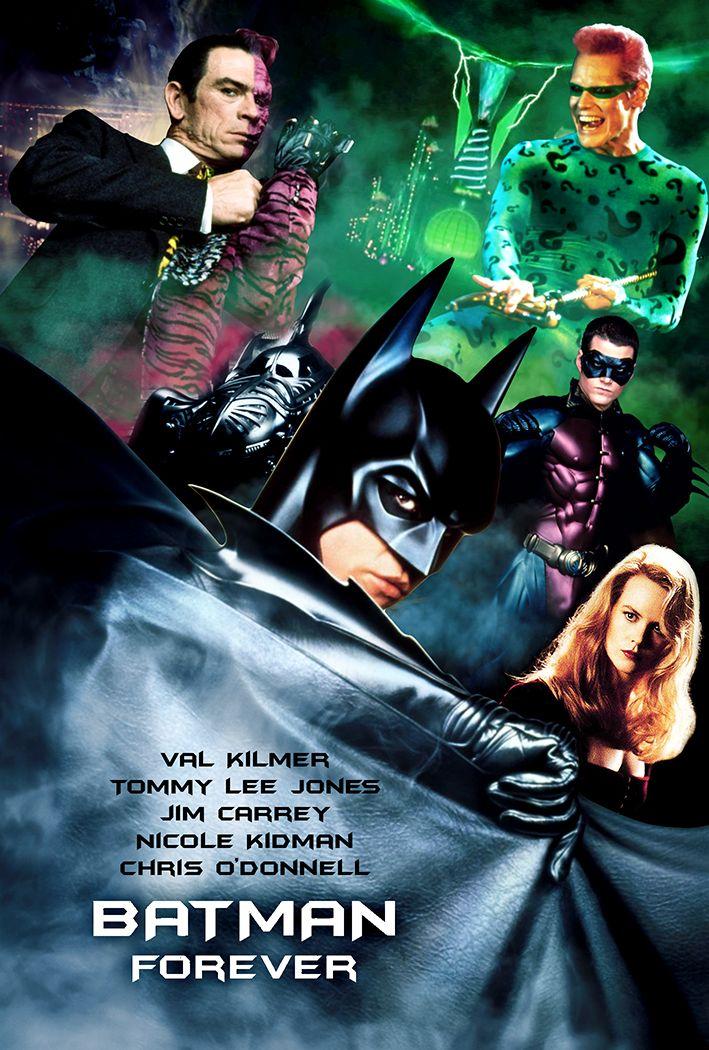 Batman Forever 1995 Batman Canvas Art Dc Comics Art Batman