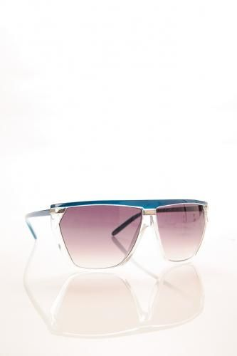 Clear Color Contrast Sunglasses PURPLE