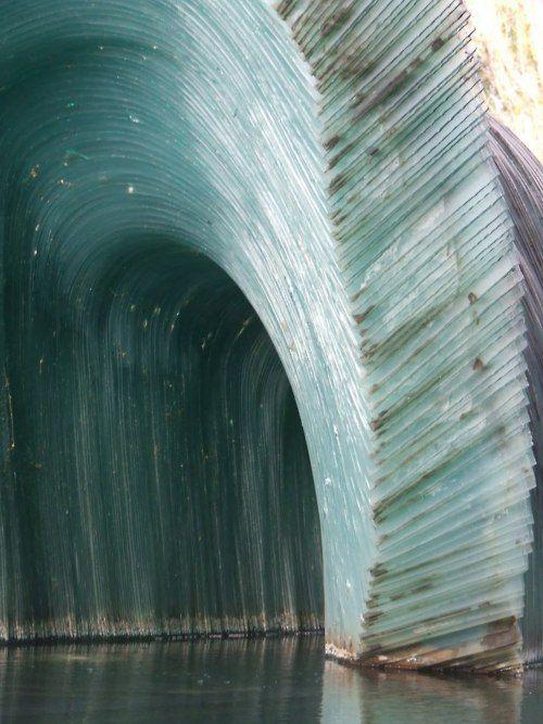 emerald city: Ice Caves, South Australia, Glasses Sculpture, Blue, Sculpture Design, Arches, Sergio Redeg, Mothers Natural, Botanical Gardens