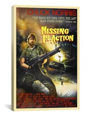 Chuck Norris In  - missing in action poster