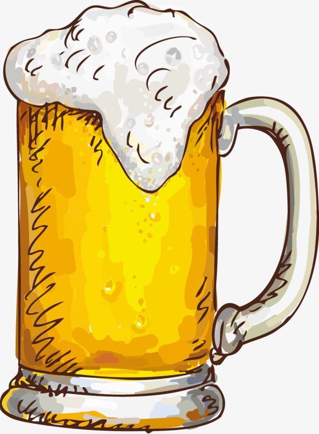 A Cup Of Beer, Cup Clipart, Beer Clipart, Beer PNG ...