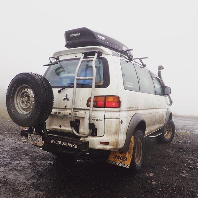 Who turned off the summer? #VanToAlaska #exploreBC #rainfallwarning