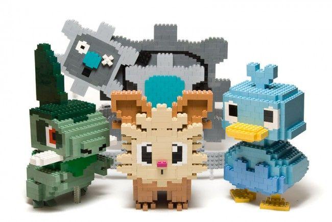 pokemon legos   Via : Classeur : Pokémon in LEGO