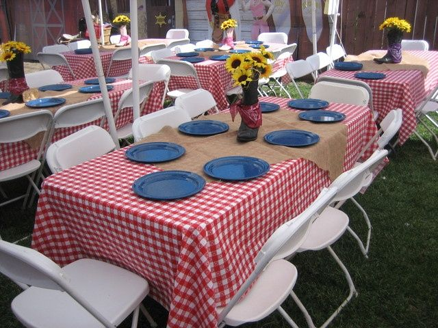 "western graduation party ideas | Photo 1 of 6: Western Hoe Down / Graduation/End of School ""Graduation ..."