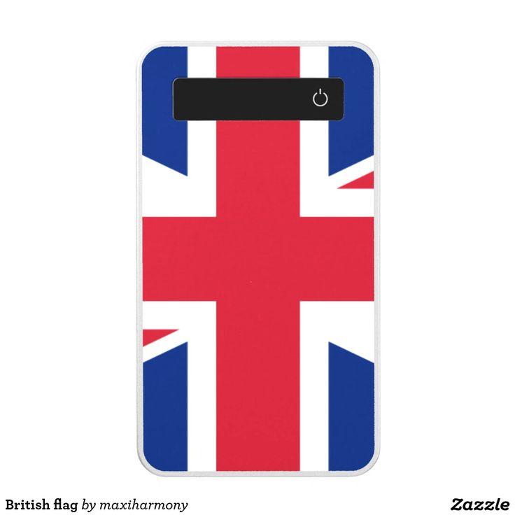 British flag power bank