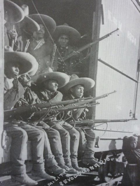 Soldados rebeldes  (1910-1920) de la revolution mexicana