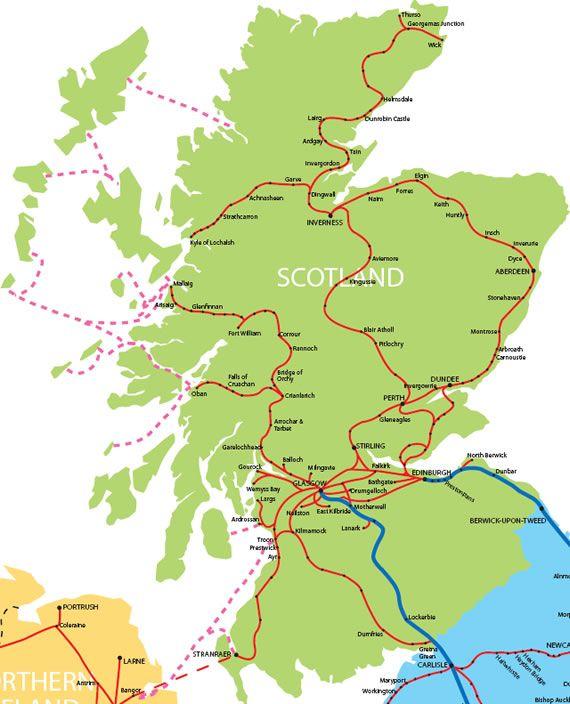 Brit Rail Freedom Of Scotland Map Google Search Scotland Travel Scotland Travel Scotland