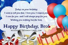 happy-birthday-brother - Messages, Wordings and Gift Ideas