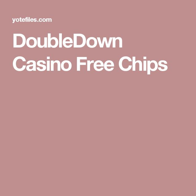 free codes double down casino