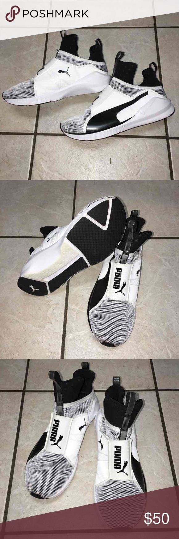 Kylie Jenner Puma Fierce Trainers Puma Fierce Trainers designed and worn by Kylie Jenner. Excellent used condition with no stains rips or tears. Women's size 8.5. Also have these listed in red! Puma Shoes Sneakers