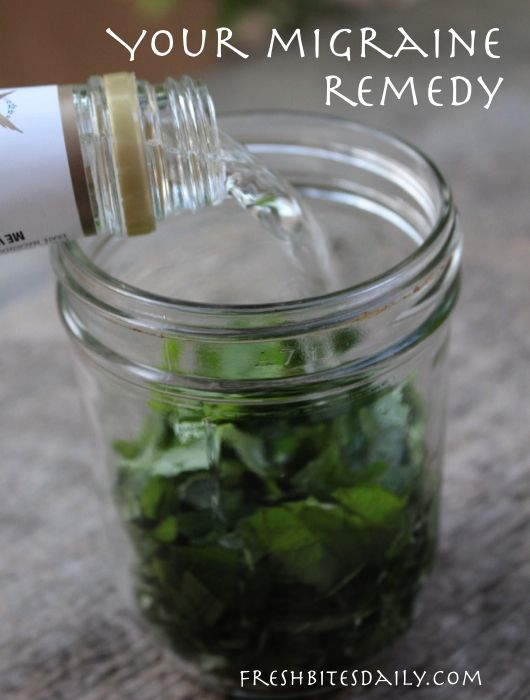 Your new migraine remedy: A simple and inexpensive herbal tincture | Fresh Bites Daily
