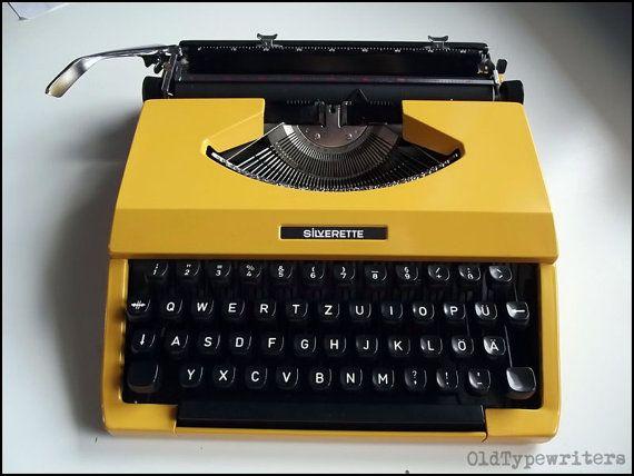 Vintage Working Japan Portable Manual Typewriter by OldTypewriters